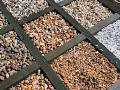 Gravel and crushed riverstone